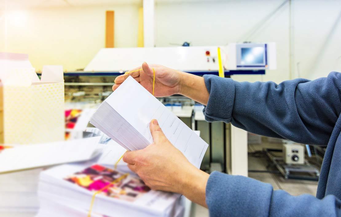 نمونه چاپ شده در چاپخانه نقش هنر
